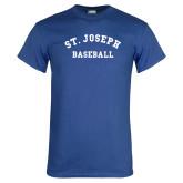 Royal T Shirt-St. Joseph Baseball