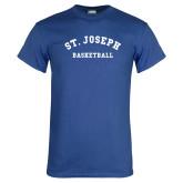 Royal T Shirt-St. Joseph Basketball