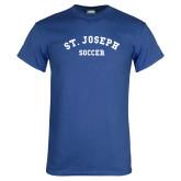 Royal T Shirt-St. Joseph Soccer