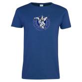 Ladies Royal T Shirt-Fighting Saints Distressed