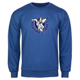 Royal Fleece Crew-Fighting Saints