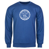 Royal Fleece Crew-College Seal