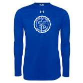 Under Armour Royal Long Sleeve Tech Tee-College Seal