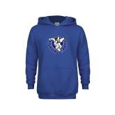 Youth Royal Fleece Hoodie-Fighting Saints
