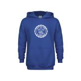 Youth Royal Fleece Hoodie-College Seal
