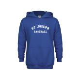 Youth Royal Fleece Hoodie-St. Joseph Baseball