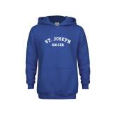 Youth Royal Fleece Hoodie-St. Joseph Soccer