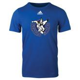 Adidas Royal Logo T Shirt-Fighting Saints