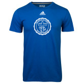 Adidas Climalite Royal Ultimate Performance Tee-College Seal