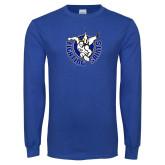 Royal Long Sleeve T Shirt-Fighting Saints