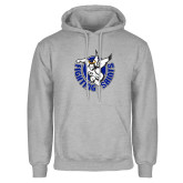 Grey Fleece Hoodie-Fighting Saints