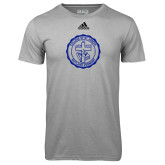 Adidas Climalite Sport Grey Ultimate Performance Tee-College Seal
