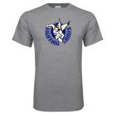Grey T Shirt-Fighting Saints