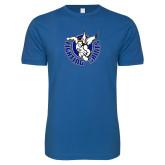 Next Level SoftStyle Royal T Shirt-Fighting Saints