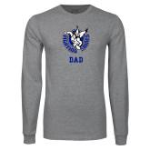 Grey Long Sleeve T Shirt-Dad
