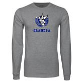 Grey Long Sleeve T Shirt-Grandpa