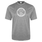 Performance Grey Heather Contender Tee-College Seal