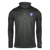 Russell Charcoal Heather 1/4 Zip-Fighting Saints