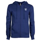 ENZA Ladies Royal Fleece Full Zip Hoodie-Fighting Saints