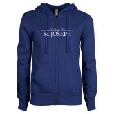 ENZA Ladies Royal Fleece Full Zip Hoodie-College of St. Joseph