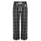 Black/Grey Flannel Pajama Pant-Fighting Saints