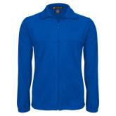 Fleece Full Zip Royal Jacket-College of St. Joseph