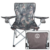 Hunt Valley Camo Captains Chair-College Seal