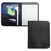 Deluxe Black Writing Pad-Primary Logo Engraved