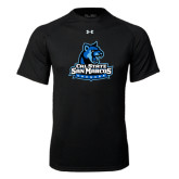 Under Armour Black Tech Tee-Primary Logo
