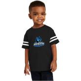 Toddler Black Jersey Tee-Primary Logo