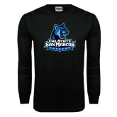 Black Long Sleeve TShirt-Primary Logo