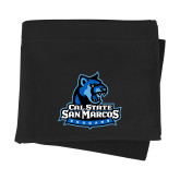 Black Sweatshirt Blanket-Primary Logo