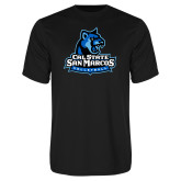 Syntrel Performance Black Tee-Volleyball