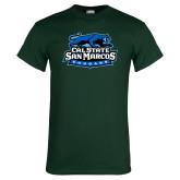 Dark Green T Shirt-Secondary Logo