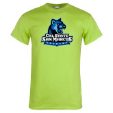 Lime Green T Shirt-Primary Logo