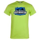 Lime Green T Shirt-Secondary Logo