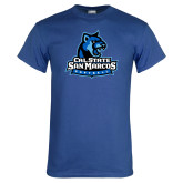 Royal T Shirt-Softball