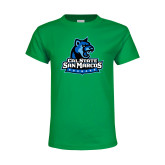 Youth Kelly Green T Shirt-Primary Logo