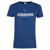 Ladies Royal T Shirt-Baseball Stacked