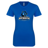 Next Level Ladies SoftStyle Junior Fitted Royal Tee-Grandma