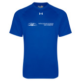 Under Armour Royal Tech Tee-California State University San Marcos Flat