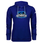 Adidas Climawarm Royal Team Issue Hoodie-Secondary Logo