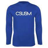 Performance Royal Longsleeve Shirt-CSUSM