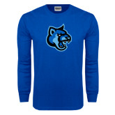 Royal Long Sleeve T Shirt-Cougar Head