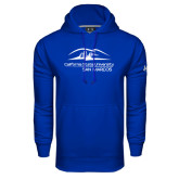 Under Armour Royal Performance Sweats Team Hoodie-California State University San Marcos