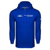 Under Armour Royal Performance Sweats Team Hoodie-California State University San Marcos Flat