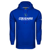 Under Armour Royal Performance Sweats Team Hoodie-Baseball Stacked