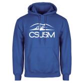 Royal Fleece Hoodie-CSUSM with University