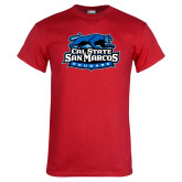 Red T Shirt-Secondary Logo