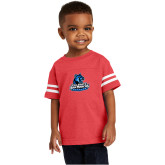 Toddler Vintage Red Jersey Tee-Primary Logo